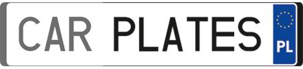 CAR PLATES Agnieszka Szczepańska - logo