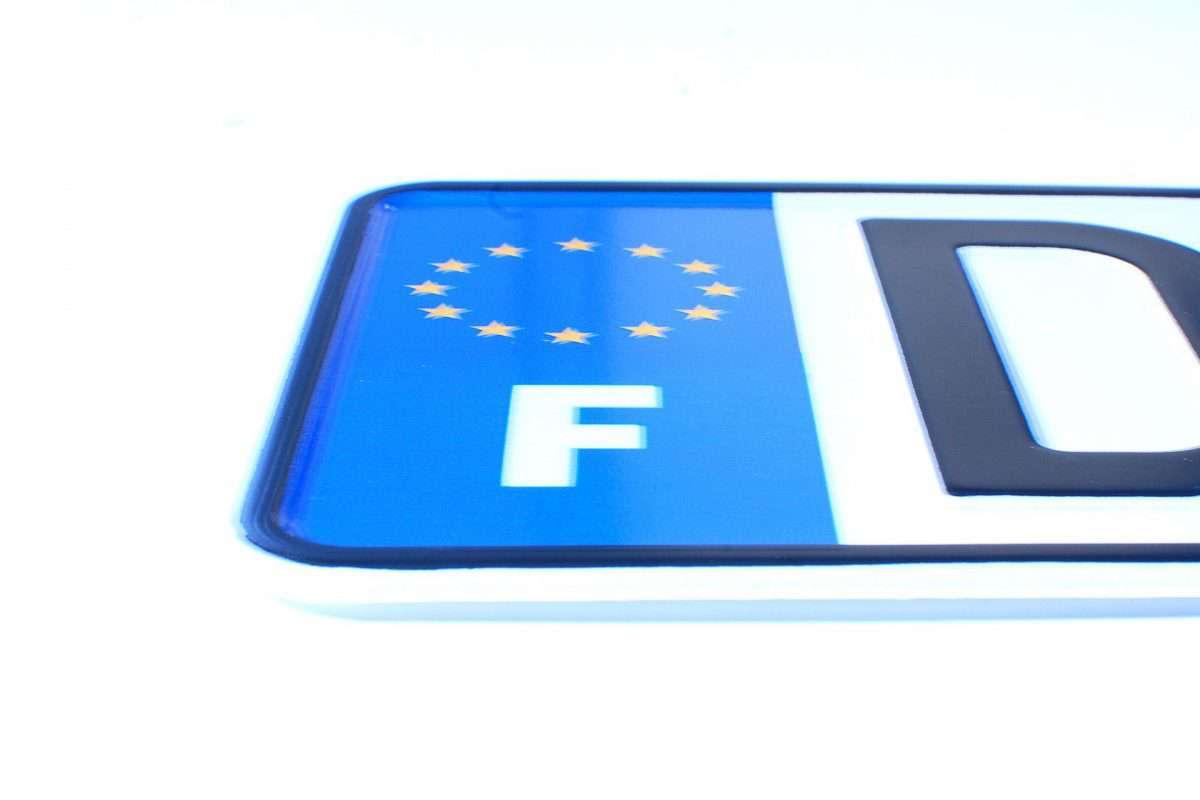 tablice rejestracyjne Francja