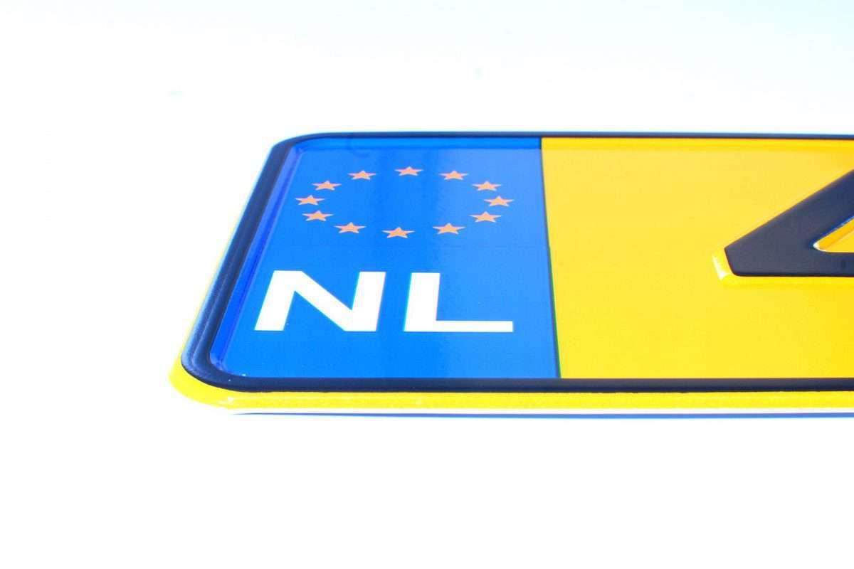 holenderskie tablice rejestracyjne