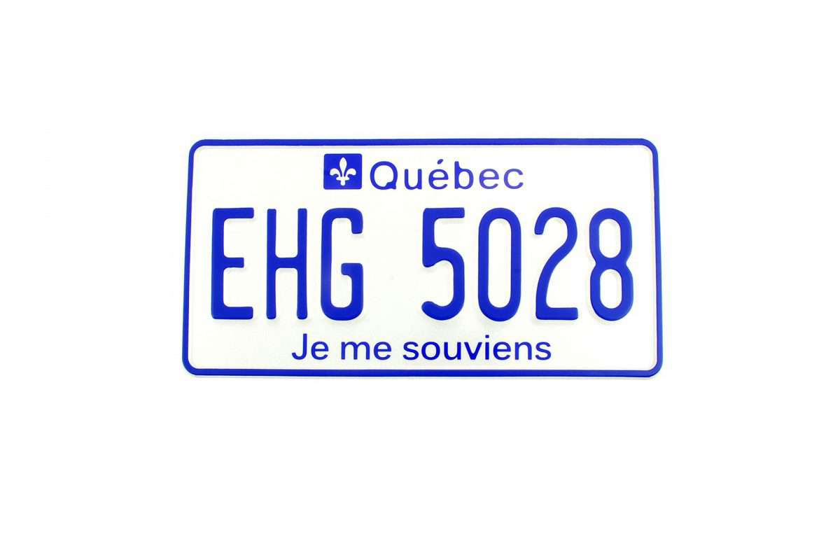 kanadyjskie tablice rejestracyjne