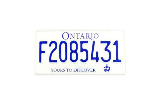 Kolekcjonerska tablica rejestracyjna – Kanada