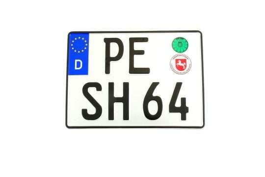 Kolekcjonerska tablica rejestracyjna – Niemcy