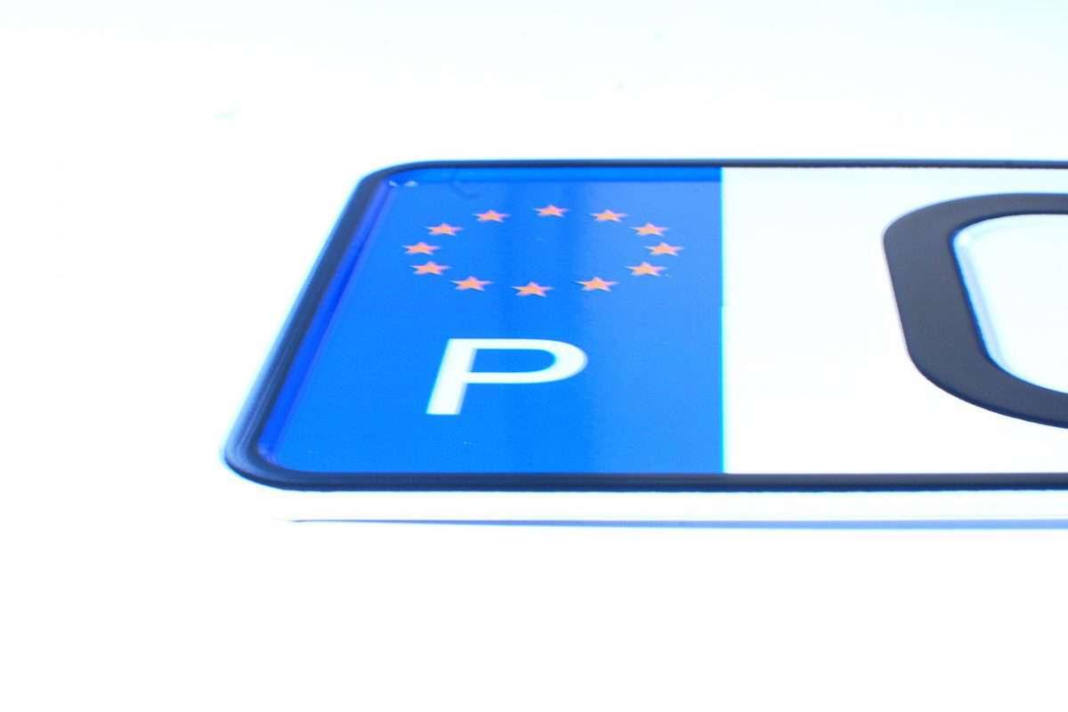 tablica rejestracyjna - Portugalia