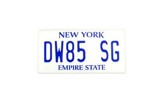 Kolekcjonerska tablica rejestracyjna – USA