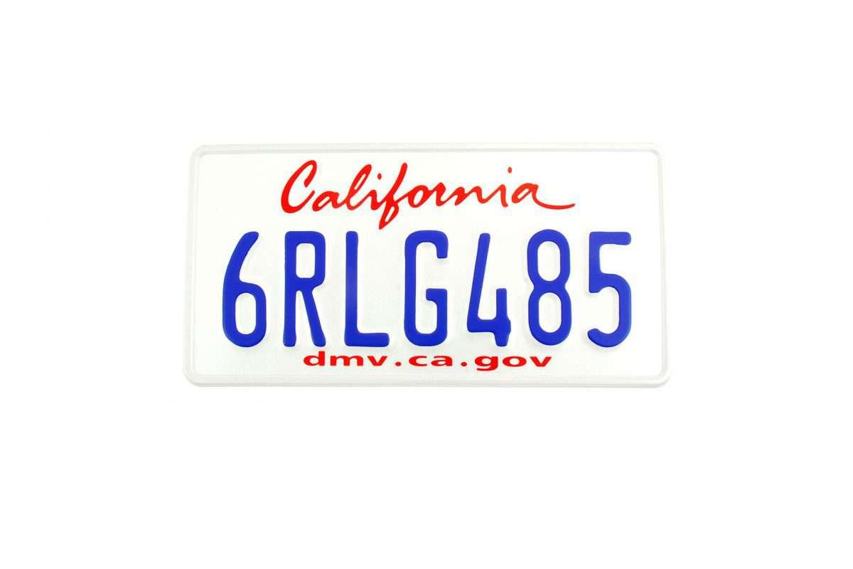 tablice rejestracyjne - USA