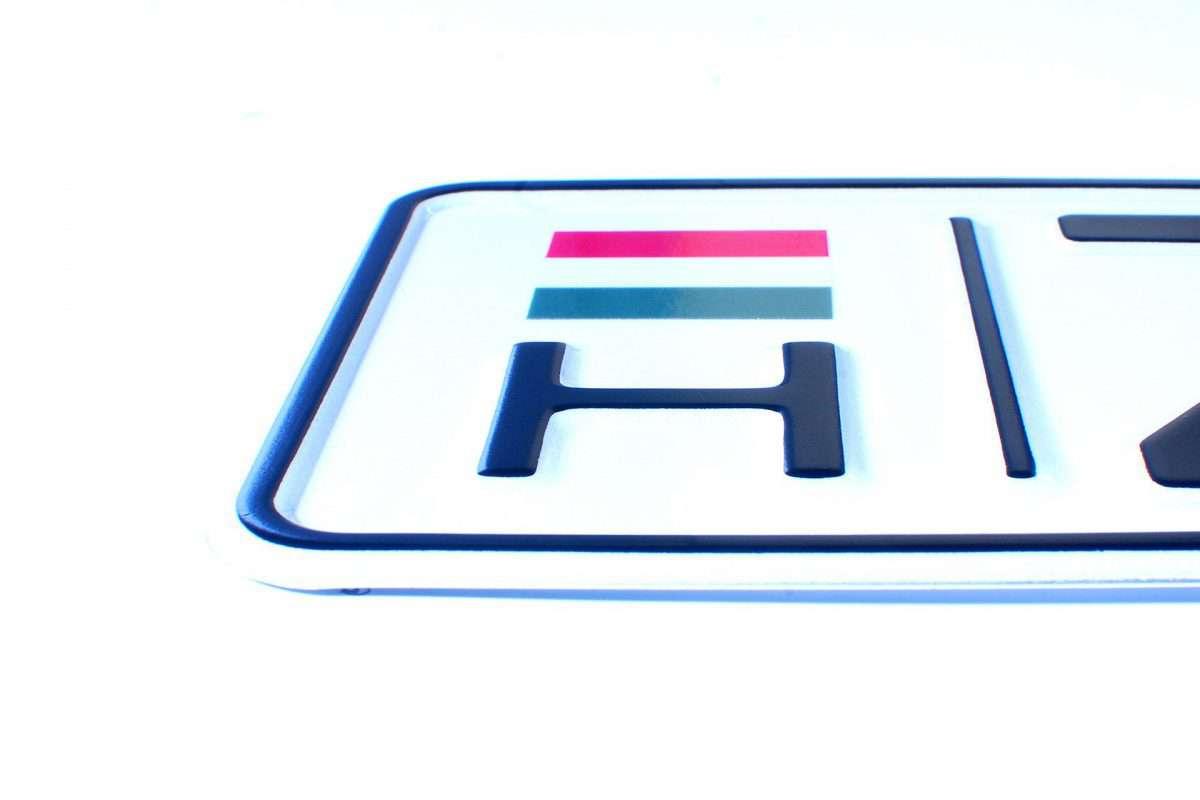 węgierskie tablice rejestracyjne